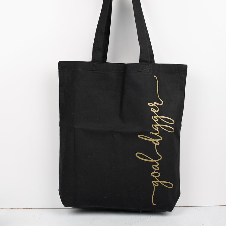 Goal Digger Tote Bag by Joy & Chaos