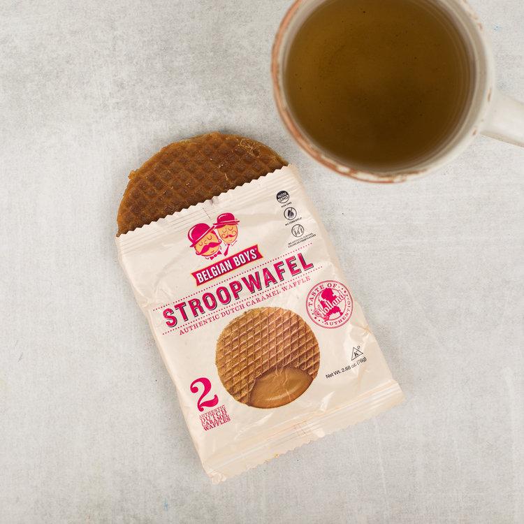 Stroopwaffel Cookie by Belgian Boys