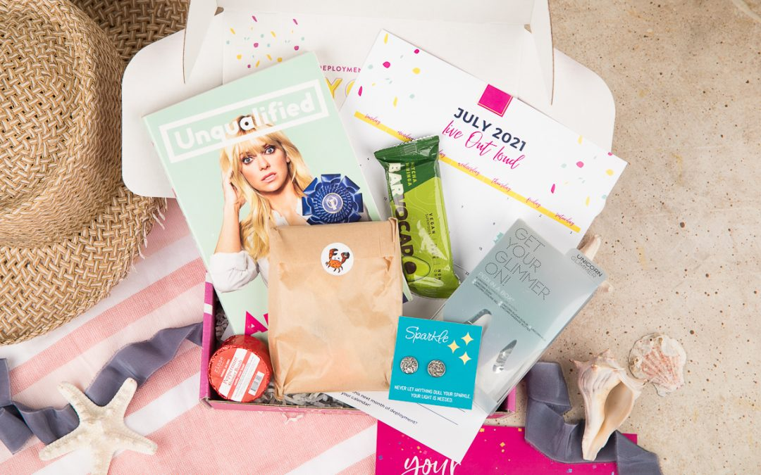 July Brave Crate- Live Out Loud 🤩